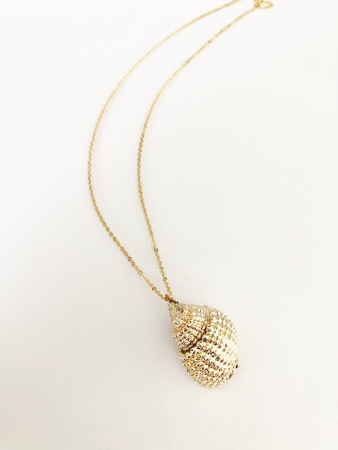 Textured Shell Necklace #2