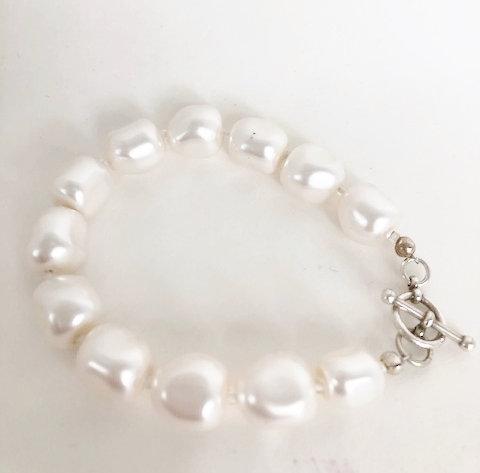 Swarovski Pearl Toggle Bracelet