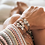 Thumbnail: Forget Me Knot Friendship Bracelet - Triple Pink