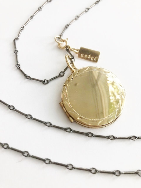 XL Long GRACE Locket