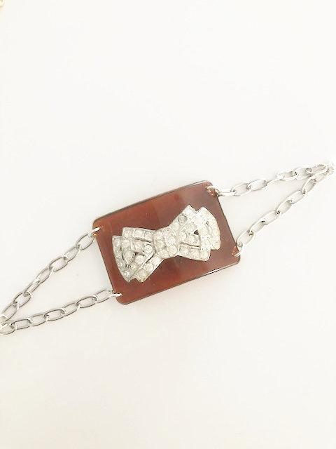 Vintage Shoe Buckle Bracelet 4