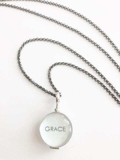 Glass GRACE Locket - Large