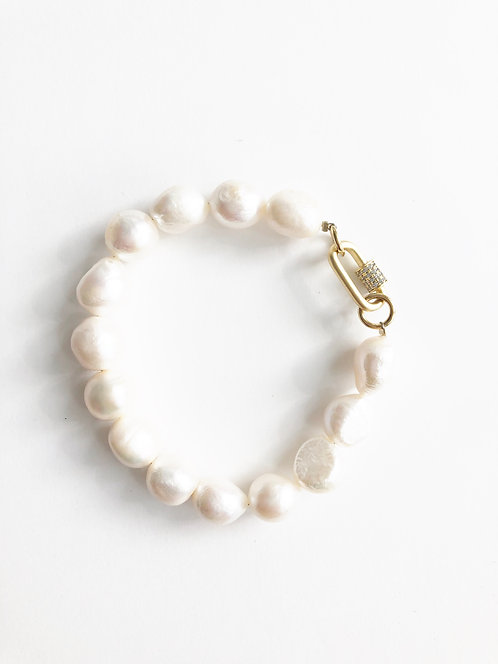 Freshwater Pearl Nugget Bracelet