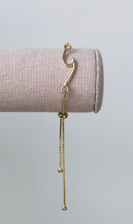 Marin Wave Bracelet - Gold