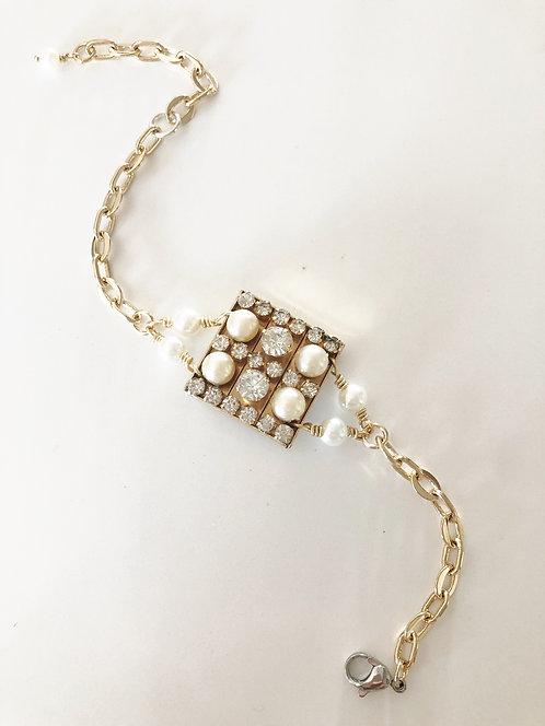 Vintage Brooch Bracelet 3