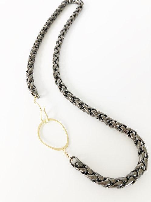 Gunmetal Rope Chain