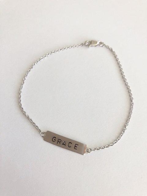 GRACE ID Bracelet - SILVER