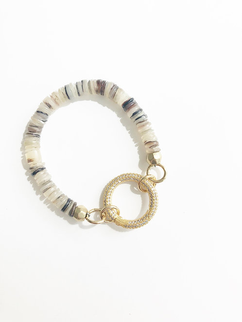 SAND Crushed Shell Luxe Beach Bracelet