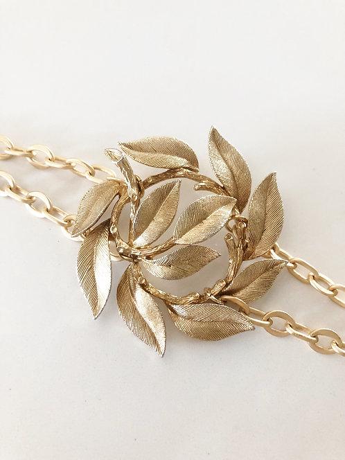 Vintage Brooch Bracelet 1