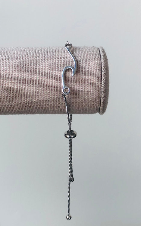Marin Wave Bracelet - Silver