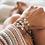 Thumbnail: Forget Me Knot Friendship Bracelet - Triple Blue
