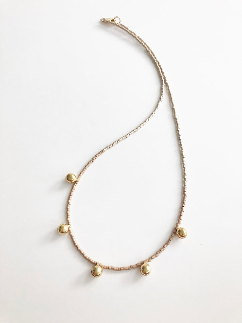 PINK - Bali Chime Necklace