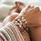Thumbnail: Forget me Knot Friendship Bracelet - Single Pink