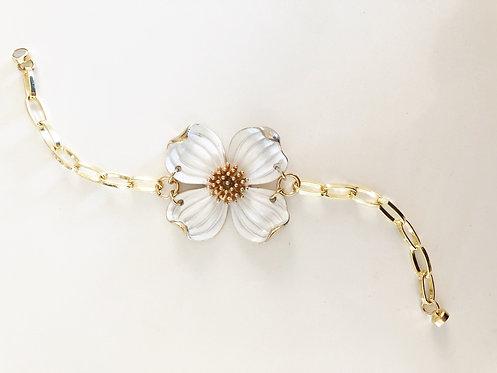 Holiday Flower Vintage Bracelet