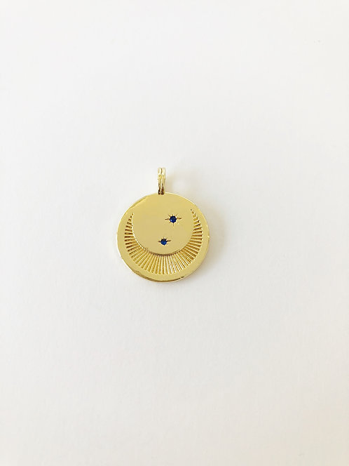 Over the Moon and Stars Pendant