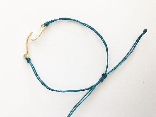 Marin Wave Bracelet - GOLD - Lagoon