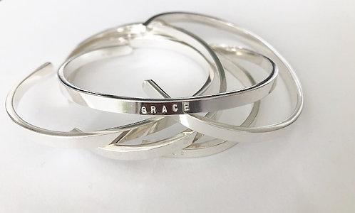 Sterling Silver GRACE cuff