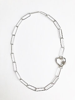 Love Links - Silver on Silver