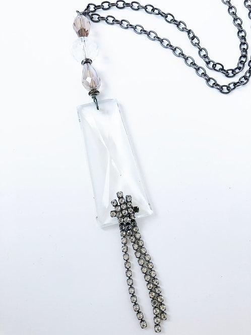 Vintage Crystal & Rhinestone Necklace