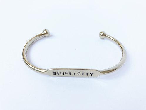 Simplicity Cuff - Gold