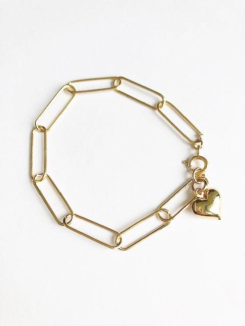 Love Links Bracelet - Gold
