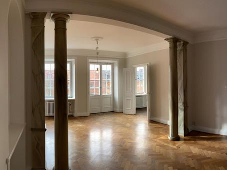 En av de vackraste lägenheter vi har hyrt ut.