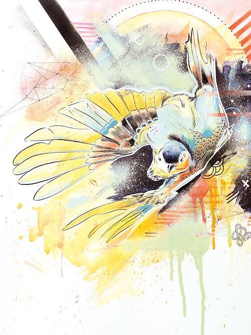 BIRD II - original drawing