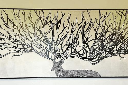 Wisdom - 300x150 cm. - udstilling