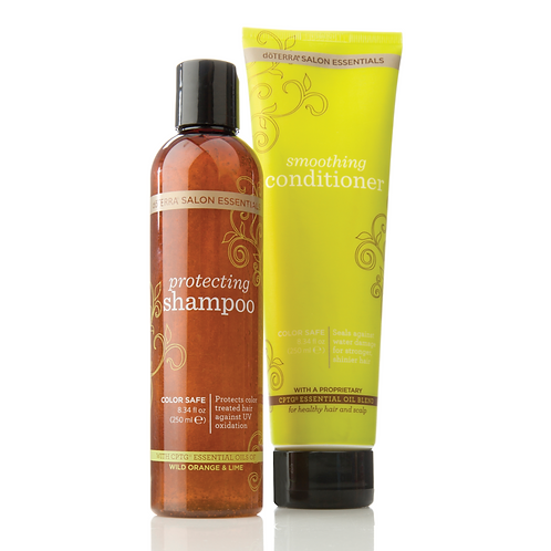 Protecting Shampoo and Smoothing Conditioner