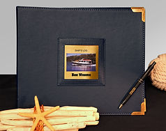Log Book Nautical Cover Bee Weems with b