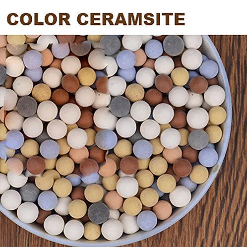 PS008 | Color Ceramsite 彩色陶粒5mm | Hydroponics | Succulent Cover Ceramsite | 1KG