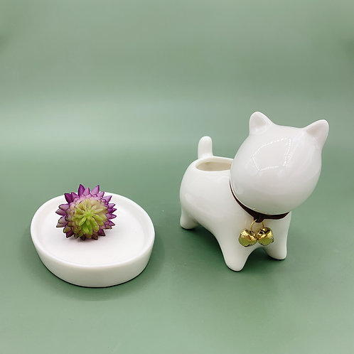 GP253| glazed pots | Nordic style| dog