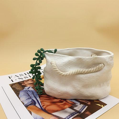 GP289 | glazed pots | Nordic style| bag
