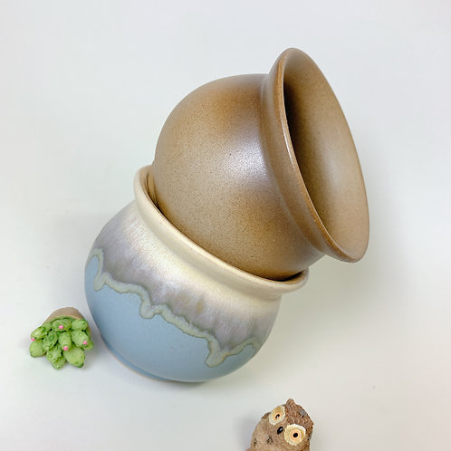 GP118-1 | glazed pot | 2 for $7.99
