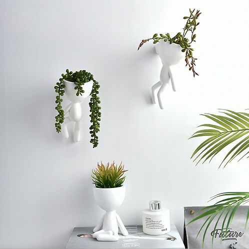 RS0011  | Resin Pots | Hanging wall pot|  Nordic | 3 Types