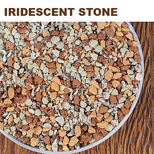 PS011 | Iridescent stone 虹彩石 | Succulent cover stone | 1L