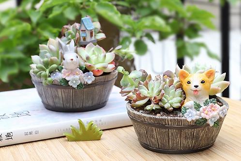 RS001 | Resin Pots | Cat | Rabbit | Dog | 3 Types