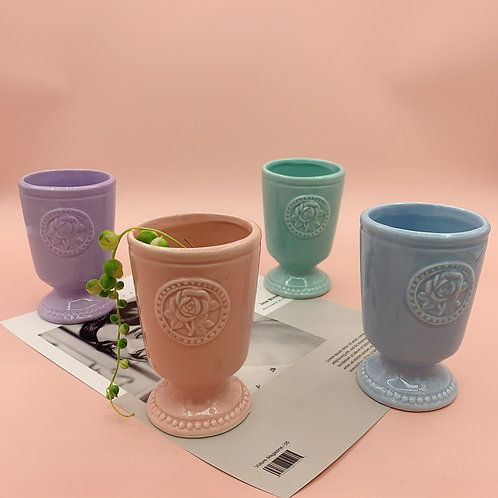 GP185 | glazed pots | cute style  |  Torch cup