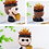 Thumbnail: RS0015 | Resin Pots Set | Characters pots for Léon:The Professional | A set of 2