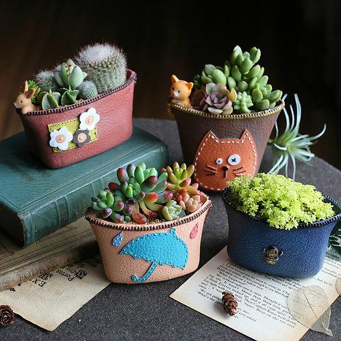 RS0010  | Resin Pots | succulent pot | Wallet pot | 2 Types