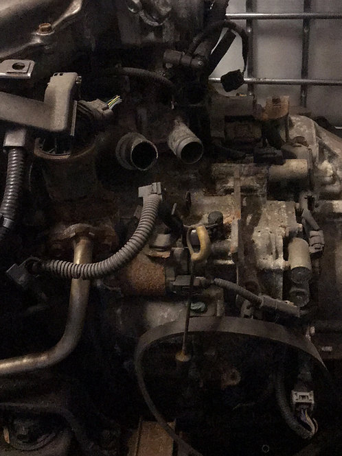 08 Honda Odysey tranny 160k engine only parts time belt broken