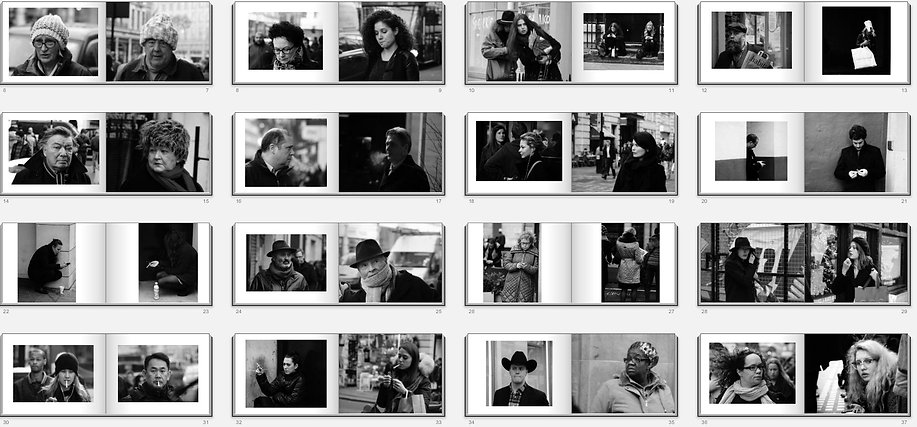 99 London Faces - by Roger Thelwell-Pichler