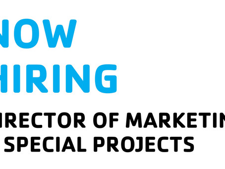 Job Announcement - Director of Marketing & Special Projects