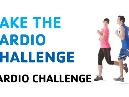 TAKE THE CARDIO CHALLENGE!
