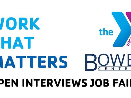 Open Interviews Job Fair