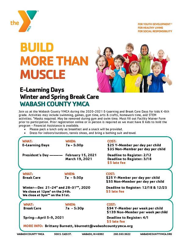 Flier E-Learning Days and Break Care 202