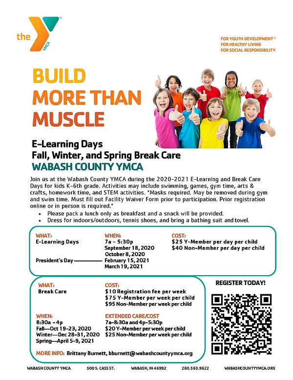 Flier E-Learning Days and Break Care 202