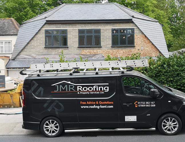 Slate roofer, roofing contractor, roofer kent