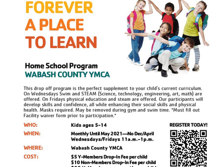 Now Offering Home School Program