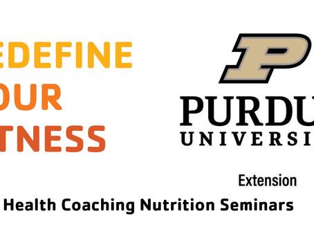 Health Coaching Nutrition Seminar